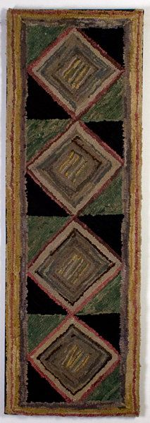 With Hook and Needle: antique rugs