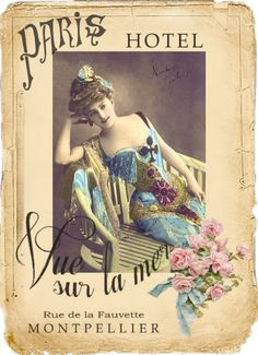 Vintage digital collage Free for personal use Papel Vintage, Vintage Crafts, Vintage Ephemera, Vintage Postcards, Vintage Art, Images Vintage, Vintage Pictures, Images Victoriennes, Retro Poster