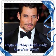 Birthday greetings to my fictional boyfriend, David James Gandy