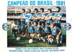 Grêmio campeão brasileiro de 1981