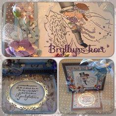 Skaparglede: Sommar = bryllupskort  Lunch Box, Bento Box