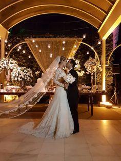 Noiva Fernanda co  Vestido de Noiva Atelier Geraldo Couto