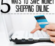 Saving money can be difficult. Even if you wait to purchase an item when it goes on sale you may be missing out on saving a few bucks. Take a look at these 5 ways to save money shopping online.