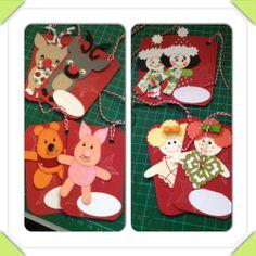 novelty gift tags (xmas)