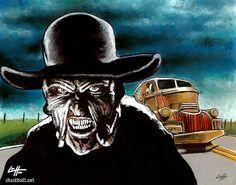 Print 8x10 The Creeper Jeepers Creepers Horror Dark by chuckhodi