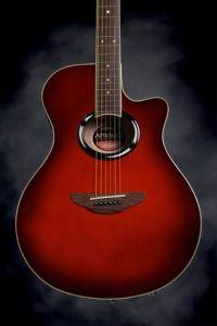 Yamaha APX500II (Dark Red Burst)