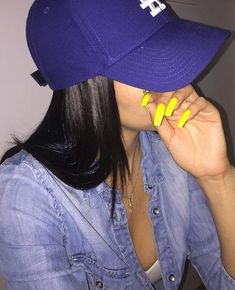 Image shared by ️ѕαrαh️. Find images and videos about fashion, style and pretty on We Heart It - the app to get lost in what you love. Swagg Girl, Diva Nails, Cute White Boys, Fancy Hats, Hot Nails, Girls World, Scene Hair, Bad Girl Aesthetic, Nails On Fleek