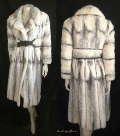 1966 Vintage Maximilian Tourmaline Emba Pale Beige Mink Fur Coat ...