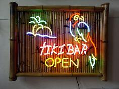 Tiki Bar Neon Signs  tikihutvillage.com