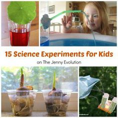 Science Experiments for Kids #science