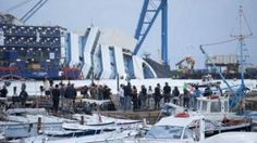 LIVE: Costa Concordia Being Pulled Upright (Video).