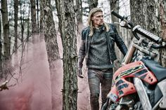 Suzy Johnston & Associates | Dan Lim - Nomad explores the contrast between the nomadic life of a model, and that of an avid adrenaline junkie  #Motorcycles #Fashion #Menswear