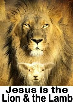 Jesus is the Lion and the Lamb