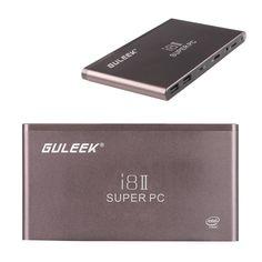 Guleek I8ii Pocket Wintel Mini Pc Desktop Computer Tv Box Windows10 Xbmc Media #Unbranded