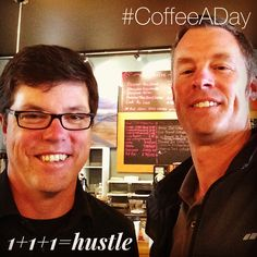 Today Todd Reding and I talked about how Entrepreneurial Leaders hustle for My CoffeeADay Initiative: 1 Coffee, 1 Person, Every Day.   http://coffeeaday.net/post/120660179526/today-todd-reding-and-i-talked-about-how