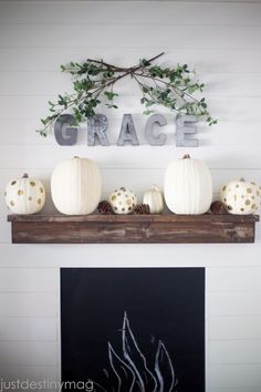 Easy and Simple Fall Decor