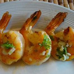 """Grilled Scampi 