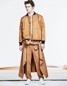 HM-Fall-Winter-2015-Menswear-Collection #JaquetasLeves #Acetinados #FocusTextil