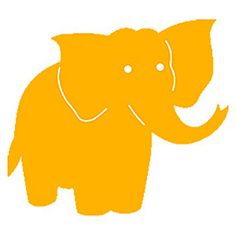 Ellison SureCut Die - Elephant (Basic Beginnings) - Large (#20560-LG)