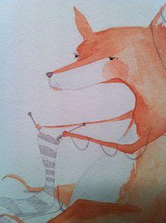 Crafty Like a Fox! #knitting #fox