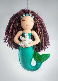 Serenity Mermaid Doll by Satuaila1 on Etsy