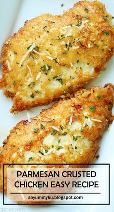 Parmesan crusted chicken easy recipe so yummy ku look no further than your grill for healthy and easy chicken fajitasthrow them over romaine hearts for added crunch chicken recipe Meat Recipes, Cooking Recipes, Healthy Recipes, Recipies, Drink Recipes, Dessert Recipes, Fish Recipes, Asian Recipes, Crockpot Recipes