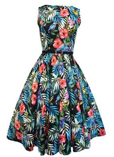Tropical dress.