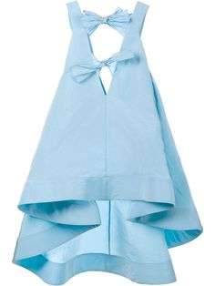 ROSIE ASSOULIN Sleeveless Silk Bow Top. #rosieassoulin #cloth #top