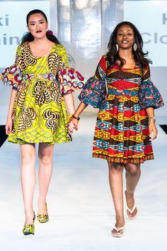 Kiki Clothing collection at Africa Fashion Week London 2012