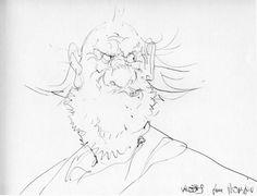 Jim Mc Clure - Blueberry par Jean Giraud - Dédicace