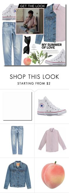 """Get the look: Elio Perlman (Call Me By Your Name)"" by mafaldamf ❤ liked on Polyvore featuring Converse, Levi's, Ray-Ban, men's fashion, menswear, CallMeByYourName, Elio and cmbyn"