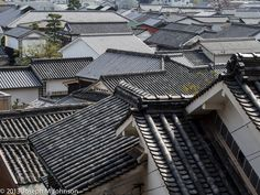 traditional japanese tiled roofs