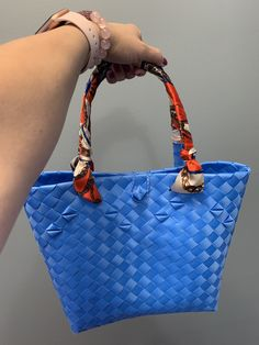 Handwoven from recyclable plastic Regions Of The Philippines, National Flag, Market Bag, Innovation Design, Hand Weaving, Plastic, Shoulder Bag, Tote Bag
