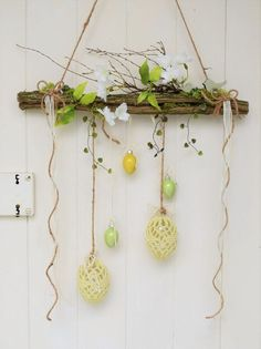 Window Hanger Easter Decorative Objects Home Accessories Handmade with love i. , Window Hanger Easter Decorative Objects Home Accessories Handmade with love in Wiesbaden Germany by Sotilala Easter Projects, Easter Crafts, Diy Home Accessories, Diy Ostern, Easter Wreaths, Spring Crafts, Decorative Objects, Plant Hanger, Diy And Crafts