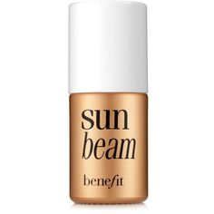Benefit Cosmetics  Sun Beam Highlighter Bronzer ($26) ❤ liked on Polyvore featuring beauty products, makeup, cheek makeup and cheek bronzer