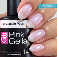 Pink Gellac #164 Classic Pearl - available at Chickettes Boutique