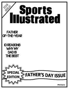 Fathers Day Project  - Sports Illustrated Magazine Templa