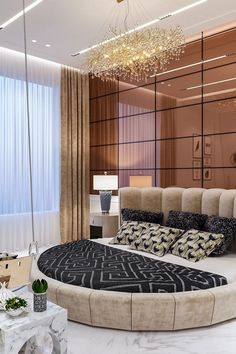 Modern Luxury Bedroom, Luxury Bedroom Design, Room Design Bedroom, Bedroom Furniture Design, Home Room Design, Luxurious Bedrooms, Home Decor Bedroom, Home Interior Design, Cama Design