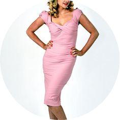 Billion dollar baby dress, pink