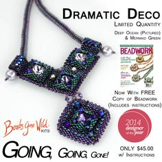 FREE Beadwork Magazine Designer of the Year issue included