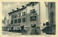 Seyne-les-Alpes Vintage - l'Hôtel Bellevue