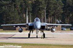 84-0019 / LN - McDonnell Douglas F-15C Eagle - 493rd FS, 48th FW, USAFE | por KarlADrage