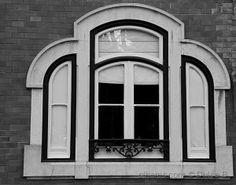 a janela...