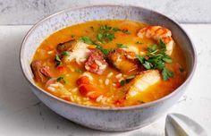 Recept: Spaanse vissoep met rijst van Anita Witzier