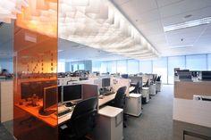 Honeycomb ceiling de PROCÉDÉS CHÉNEL | Techos iluminados