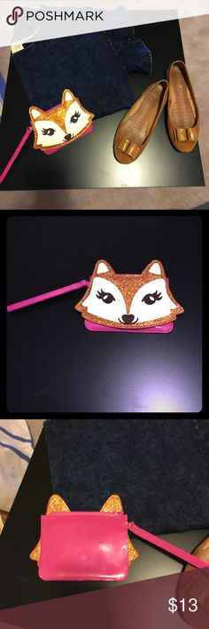 Adorable Fox Change Purse This is an adorable Fox change purse. Brand New without tags. Also great for girls! Nordstrom Bags Clutches & Wristlets
