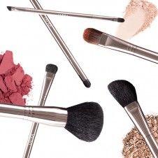 To ensure even distribution, shake excess powder from brushes before applying makeup. #BeautyTip