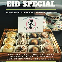 The RBL Luxury Chocolate Date Box makes the prefect Eid Gift. 15% off at checkout using the code on pic  http://ift.tt/2rQt6Us