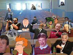Amphitheater of memes