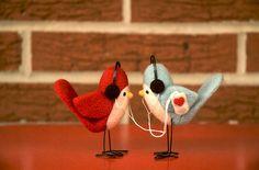 Bird-couple-handmade-love-music-